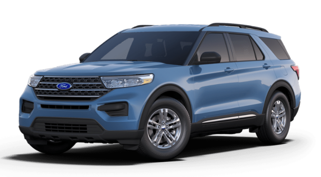 New 2020 Ford Explorer XLT SUV in Sayre, PA